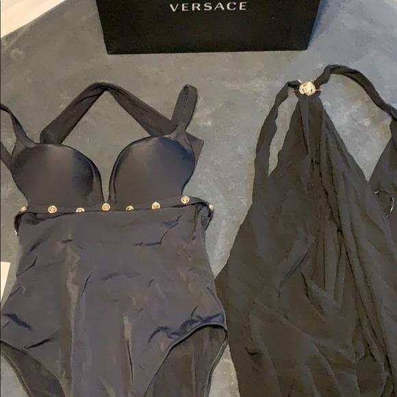 80d8d4c24e2 Versace Swim | Medusa Stud One Piece Suit | Poshmark